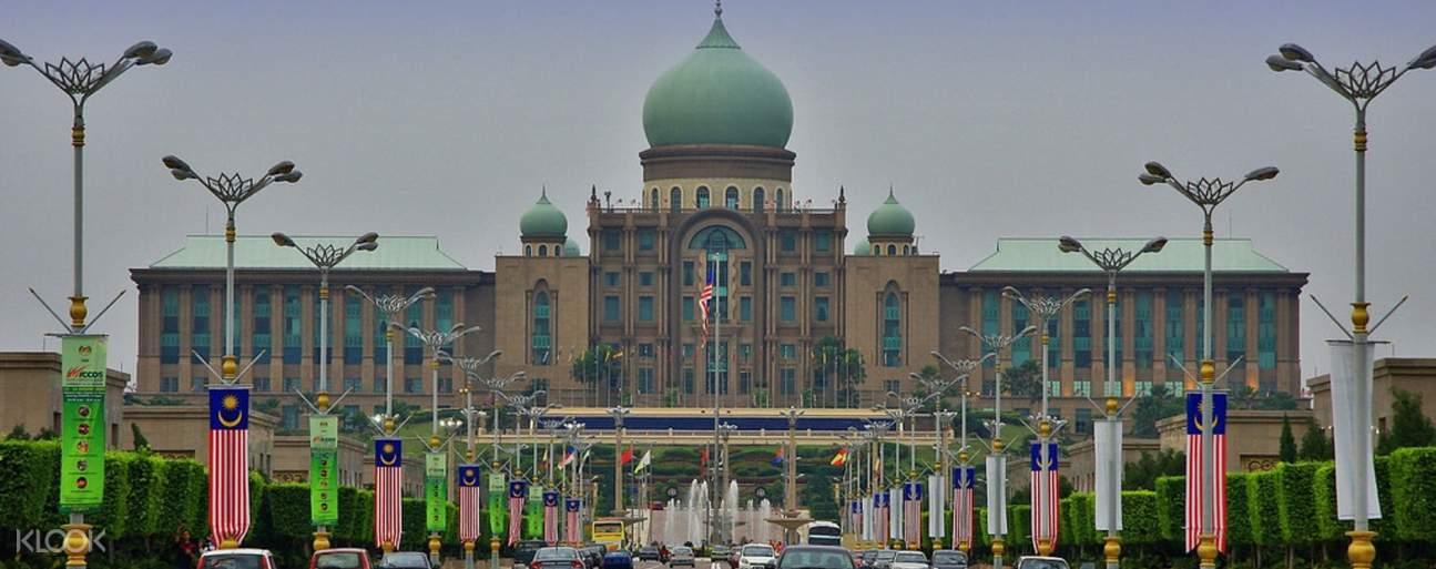 a mosque in Putrajaya